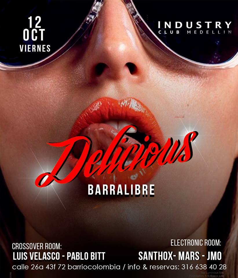 Industry-Club-discoteca-gay-en-Medellin-Barrio-Colombia-viernes 12 de octubre