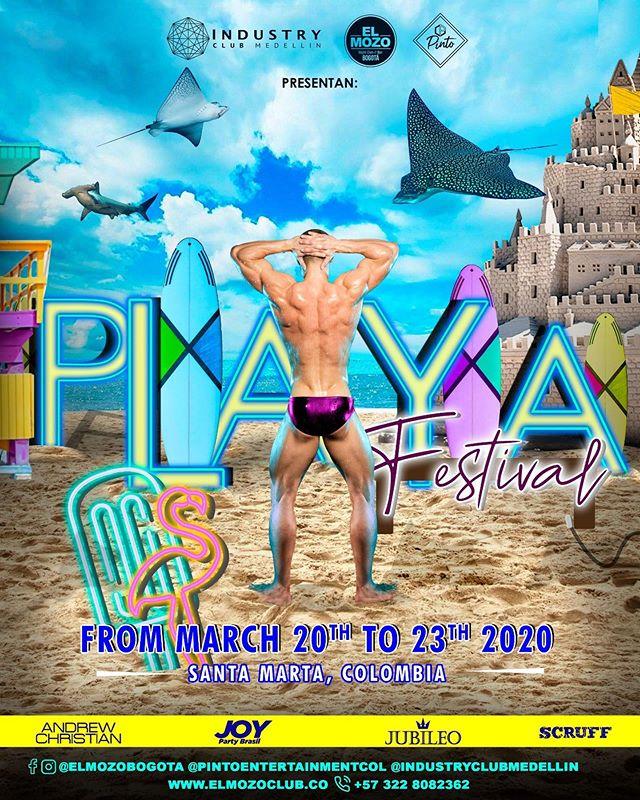 rumba gay, festival playa, festivales gay, discotecas gay fest playa, industry club medellin el mozo club bogota, fiestas inclusivas, rumbas en la playa, playa, sol mar y arena