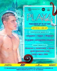 guia gay colombia – playa festival, rumba gay santa marta, fiestas gay colombia