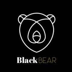 Arnes, Blackbear, BDSM, LOGO BLANCO,Collar bdsm